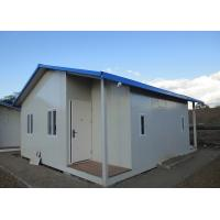 Quality Fast Construction Prefab Steel Houses Sandwich Panel For Worker Residential Camp for sale