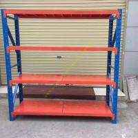 Quality Custom Fitted Warehouse Storage Racks / Medium Duty Steel Pallet Rack Shelving for sale