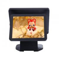 Quality Black Color Dual Screen Retail Epos Systems Aluminium Alloy Housing For Small Business for sale