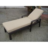Quality Foldable Rattan Sun Lounger for sale