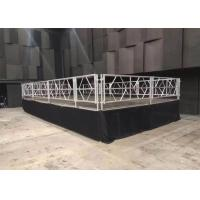 Quality Waterproof Mobile Stage Rental , Anti Skip Concert Folding Stage Platform for sale