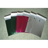 Buy Laminated Colorful Metallic Bubble Mailers For Delivery Industry 345x465mm #K at wholesale prices