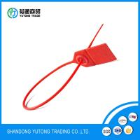 Quality Tamper Evident Security Labels seal container packing plastic lock seal for sale