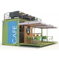 China Topshaw Factory Manufactured Competitive Price Solution Shipping Container Coffee Shop Bar For Sale on sale