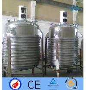 Quality Food Grade Electrochemical Stir Tank Bioreactor / White Latex Melting Dissolving Tank for sale