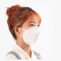 Buy cheap FFP1 Foldable N95 Dust Mask , Low Breath Resistance Disposable N95 Mask from wholesalers