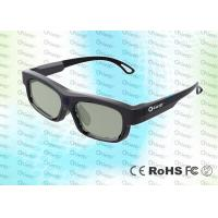 Quality IR Technology Rechargeable Cinema Use Adult 3D Glasses For Digital Cinema for sale