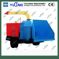 Quality 10-20tons/h mobile wood chipping shredder machine for sale