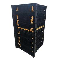 China High Quality Recycled Building Material Formwork PP Plastic Concrete Construction on sale