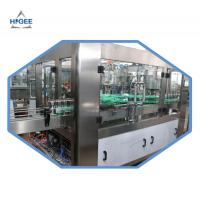 Buy cheap 2000kg Carbonated Drink Filling Machine For Aluminum Cans 18 Filling Head from wholesalers