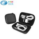 Quality Best Sale Portable Black Storage EVA Earbud Case Hard Portable Bag and USB Cables Case EVA Earphone Case for sale