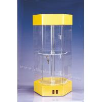 Quality Acrylic Led Box Display Case with Lock for sale