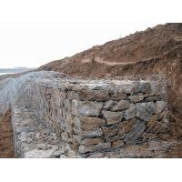 China Gabion Wire Mesh Decorative Gabion Baskets For Water / Soil Protection on sale
