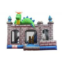 Quality Chameleon Inflatable Bounce House With Air Blower And Repair Kits for sale