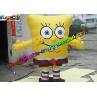 China Popular Advertising Inflatables Spongebob Cartoon Replica Model ISO Approval on sale