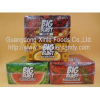 China Square Sweet Big Blast Bubble Gum Candy With Fruit Flavor , 4 G * 100 Pcs on sale