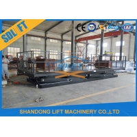 Quality 8T Double Scissors Hydraulic Cargo Lift Heavy Duty Large Lifting Platform with CE for sale