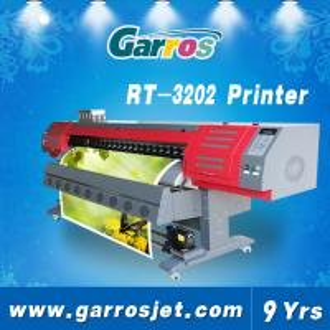 Quality new model digital 3.2m flex banner sign printer tarpaulin printing machine for sale