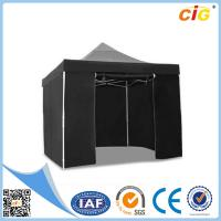 Quality 3x3 Black Pop Up Outdoor Folding Gazebo Tent Market Party Marquee for sale