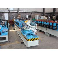 China Heavy Duty Shutter Door Roll Forming Machine PLC Control High Cutting Accuracy on sale