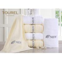 Quality Customized Hotel Hand Towels High Water Absorbent 100% Cotton for sale