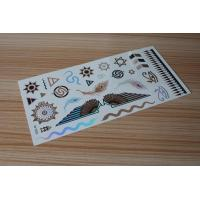 Quality Stock wholesales metallic tattoo designs M-T022 for sale