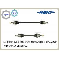 Quality Auto Cv Joint Axle Drive Shaft Parts Mr580361 Mr580362 For Mitsubishi Galant for sale