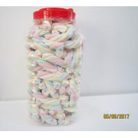Quality Rope Shape Twisted Marshmallow Candy , Gourmet Marshmallow/ Healthy sweet for sale