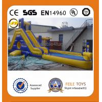 Quality 2014 hot sale commercial grade inflatable water slides for sale