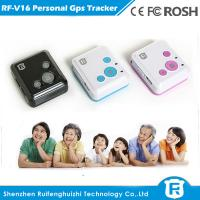 Quality Hidden gps sim card personal gps tracker for kids security for sale