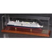 Quality Holland America Westerdam Coast Guard Boat Models ABS Hand Carving Anchor Material for sale