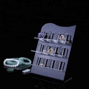 Quality Transparent custom design acrylic bracelet display for sale
