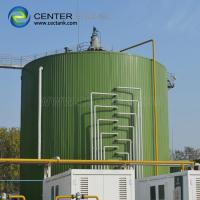 Quality ART 310 Industrial Water Tanks , Glass - Fused - To - Steel Food Processing Wastewater Storage Tanks for sale