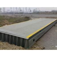 Buy cheap modular Pitless Multi Deck Road Weighbridge for container transportation from wholesalers