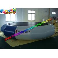 Quality Durable Inflatable Water Toys 0.9 mm PVC Inflatable Water Trampolin For Sea for sale