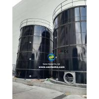 Quality Leachate Storage Glass Fused Steel Tanks With AWWA D103 / EN ISO28765 Standard for sale