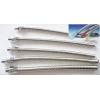 Quality small bore Stainless Steel flexible Conduit for thermal coupler and sensor wirings,  flexible stainless steel conduit for sale