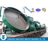 China Compound Fertilizer Equipment , Organic Fertilizer Pan Disc Pelletizer For Sale on sale