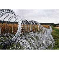 Quality Double Concertina Razor Wire , Concertina Wire Fencing For Fence And Isolation for sale