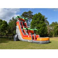 China 30 FT Huge Inflatable Water Slide Environmental Friendly UV Resistant Strong Bearing on sale