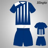 fc2ae5f1702 Quality Professional Blue Youth Soccer Team Jerseys Quick Drying Moisture  for sale