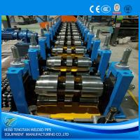 Quality Automatic Cold Roll Forming Machine Hydraulic Cutting U Purlin Shape ISO9001 for sale