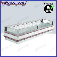 Quality 2.5m single side commercial island freezer for supermarket for sale
