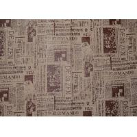 Quality Grey Artificial Washable Suede Fabric , Microsuede Upholstery Fabric for sale