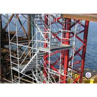 Lightweight Ladders And Scaffold Towers Hot Dip Galvanized Easy Installation for sale