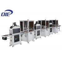 Buy Three Color Automatic Screen Printing Machine / UV Dryer Flatbed Printing Machine at wholesale prices