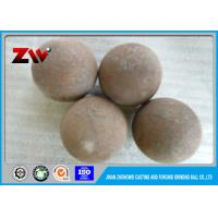 Buy cheap High Chrome Forged steel grinding balls for mining / ball mill HRC 55-65 from wholesalers