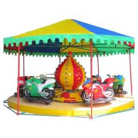 Quality Indoor Playground Equipment Motor Race Ride With Motor Coach 8-12 Riders for sale