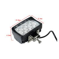 Quality 33W CREE LED Work Lights For Trucks Tractor Off road Jeep LED Lights for sale