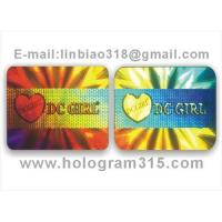 Quality Holograms label for sale